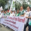 Anti-pork Barrel Rally