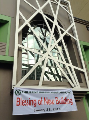 Blessing of PNA Building 3