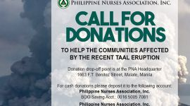 PNA - CALL FOR DONATION -TAAL
