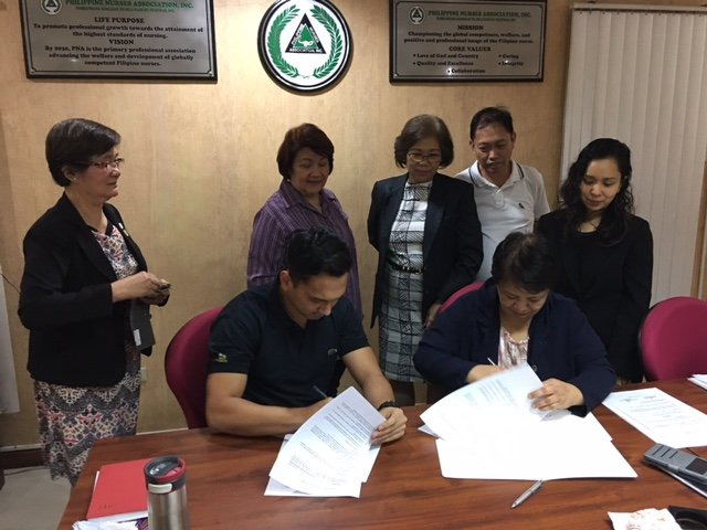 Nurse Led Clinic Contract Signing